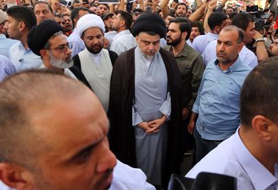 صحيفة:تظاهرة الصدر ضد العدوان الثلاثي على سوريا جاءت بأمر إيراني