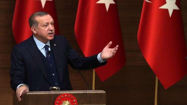 أردوغان:فرنسا ستكون هدفا لتركيا إذا استمرت في دعمها لأكراد سوريا