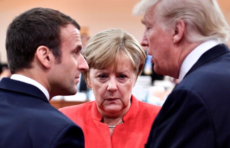 مساعي ألمانية فرنسية للحفاظ على الاتفاق النووي الإيراني