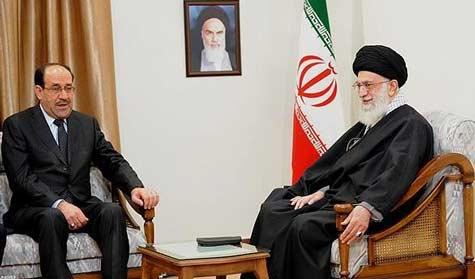 المالكي:خامئني أبلغني بأن رئاسة الوزراء من حصتك!