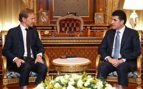 هولندا تؤكد استمرار دعمها لكردستان
