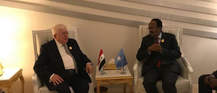 مزقوا ثيابكم..العراق يطلب من الصومال الدعم الاستخباري والاقتصادي!!