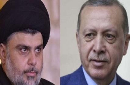 أردوغان يهنىء الصدر بفوز قائمته في الانتخابات