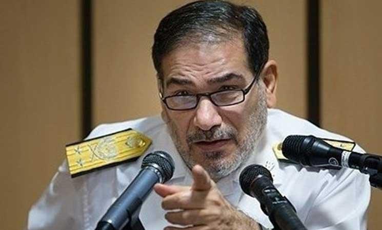 شمخاني:التواجد الإيراني في العراق من خلال قوات القدس والحشد الشعبي