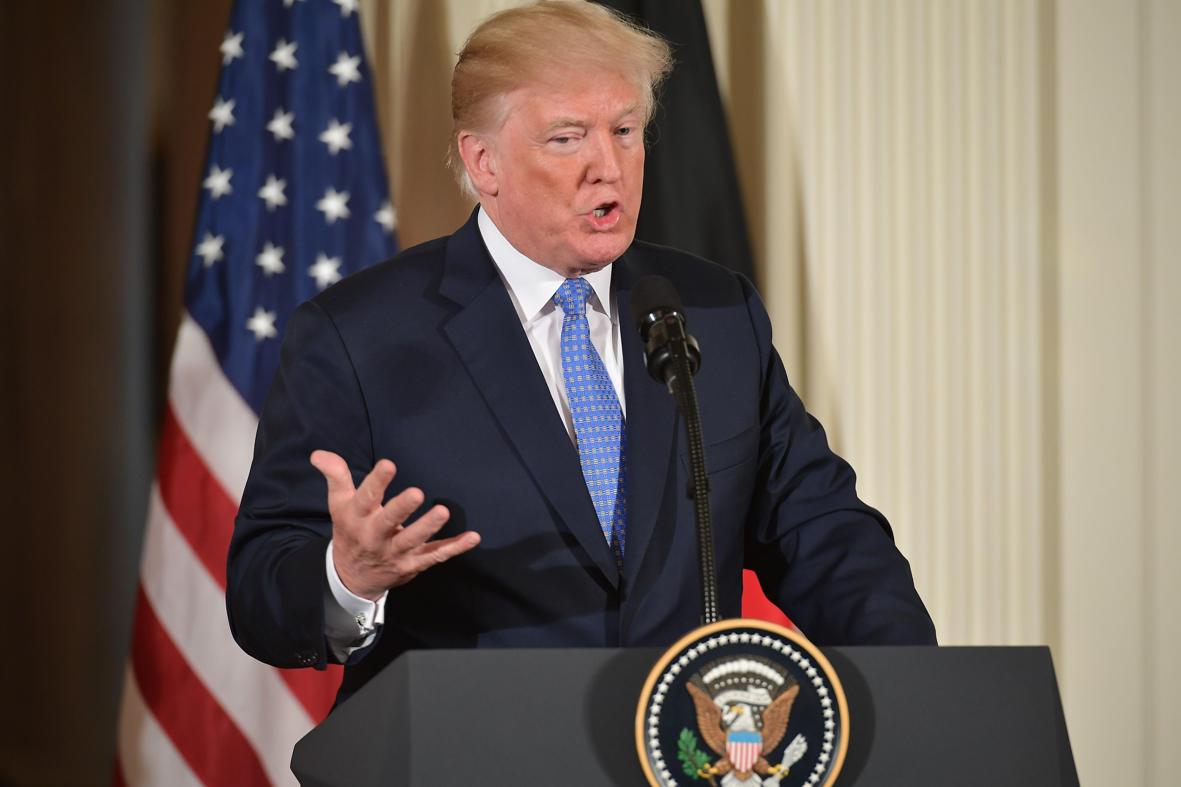 ترامب:سنفرض عقوبات على إيران لم يسبق أن فرضناها على أي دولة