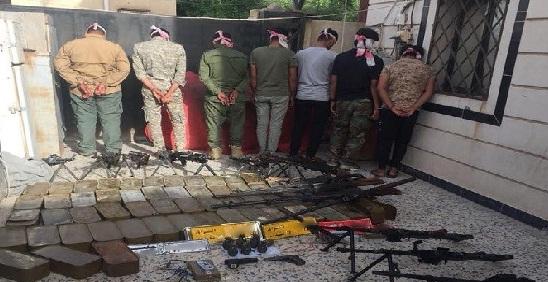 الحشد :عناصر الحشد الملقى القبض عليهم في الناصرية ينتمون إلى فصيل حزب الله