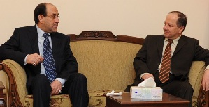 صحيفة: البارزاني رئيسا لجمهورية العراق والمالكي نائباً له
