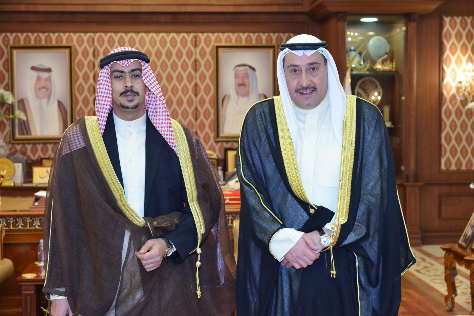 الشيخ فيصل الحمود استقبل شيخ قبيلة البدور