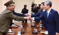 محادثات عسكرية بين الكوريتين