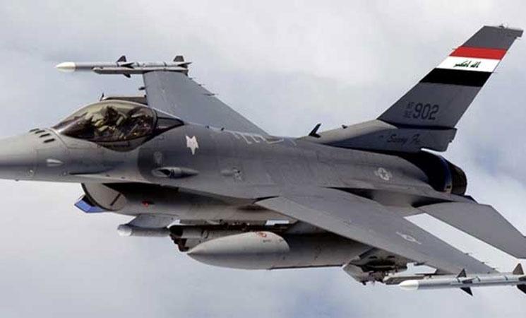 الإعلام الأمني:قصف مواقع داعشية داخل الأراضي السورية