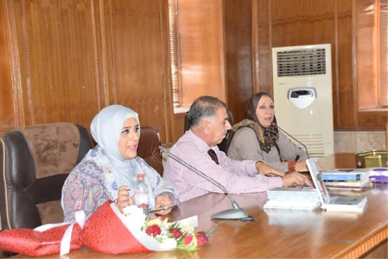 القاصة العراقية رجاء الربيعي في ضيافة الملتقى الثقافي