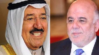 أمير الكويت يعلن استعداد بلاده لدعم العراق في احتواء أزمة الأحتجاجات
