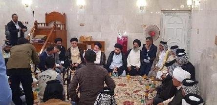 مصدر:وفد من التيار الصدري يتفاوض مع بعض شيوخ عشائر البصرة