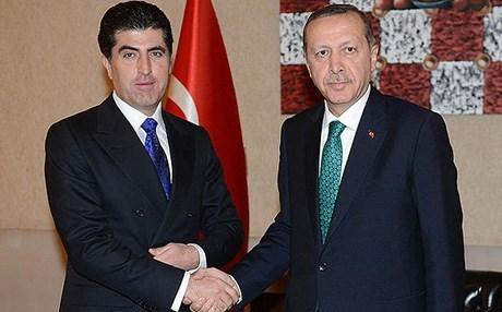 مصدر :بارزاني سيبحث مع اردوغان تعزيز العلاقات بين أنقرة وأربيل