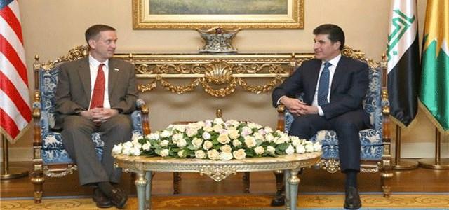 وفد أمريكي يؤكد لحكومة كردستان استمرار الدعم والتنسيق