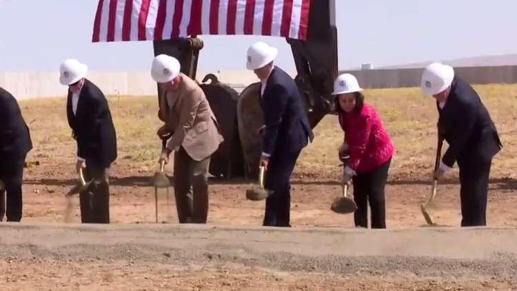 وضع حجر الأساس في أربيل لأكبر قنصلية أمريكية في العالم