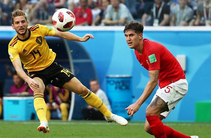 بلجيكا الثالث في كأس العالم بكرة القدم