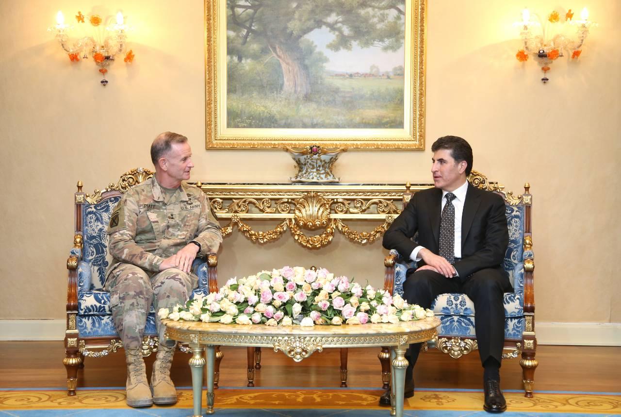 الجنرال باييت: البيشمركة نعتبرها من منظومة الجيش الأمريكي