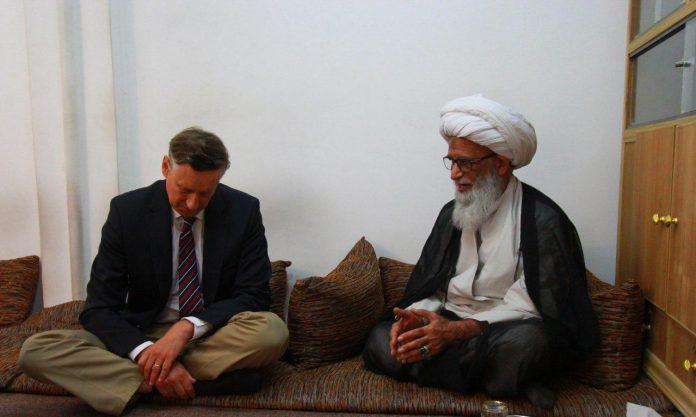 السياسي النجفي يلتقي السفير الالماني في العراق