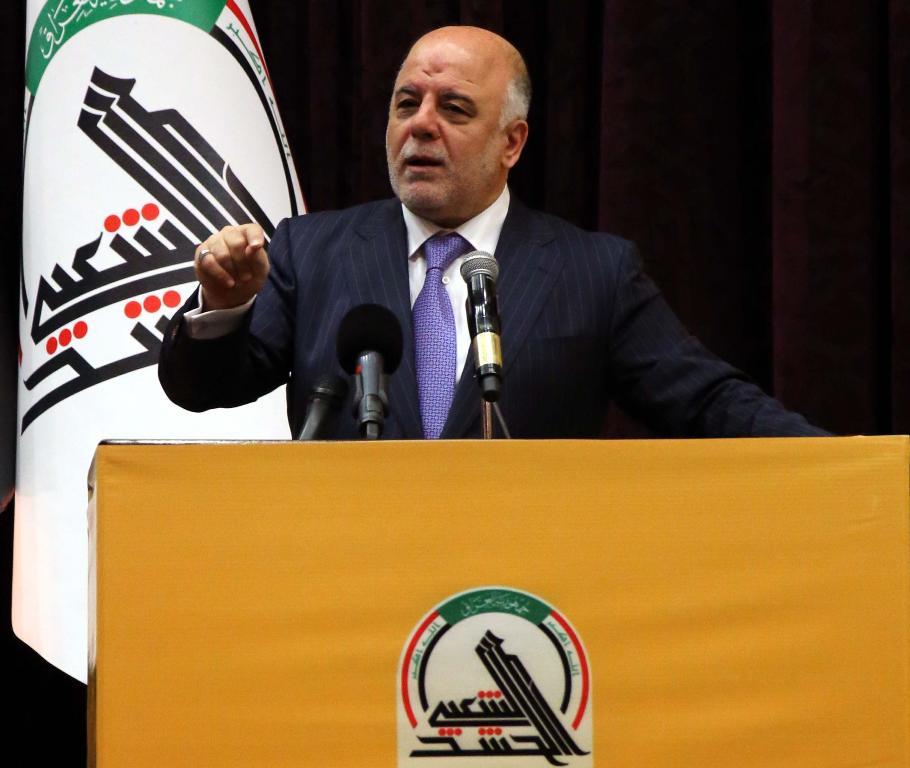 """تحالف النصر:العبادي هو """"القائد العام ولن يسمح للحشد التصرف وفق رغباته"""""""