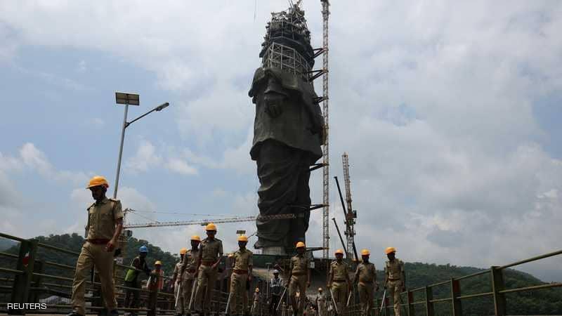 الهند ..أضخم تمثال على الأرض