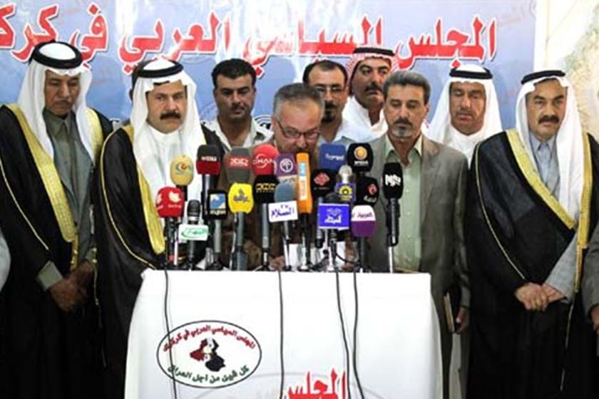 المجلس العربي في كركوك يرفض المساومة على المحافظة
