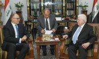 سيليمان يدعو معصوم لدعوة مجلس النواب الجديد للانعقاد