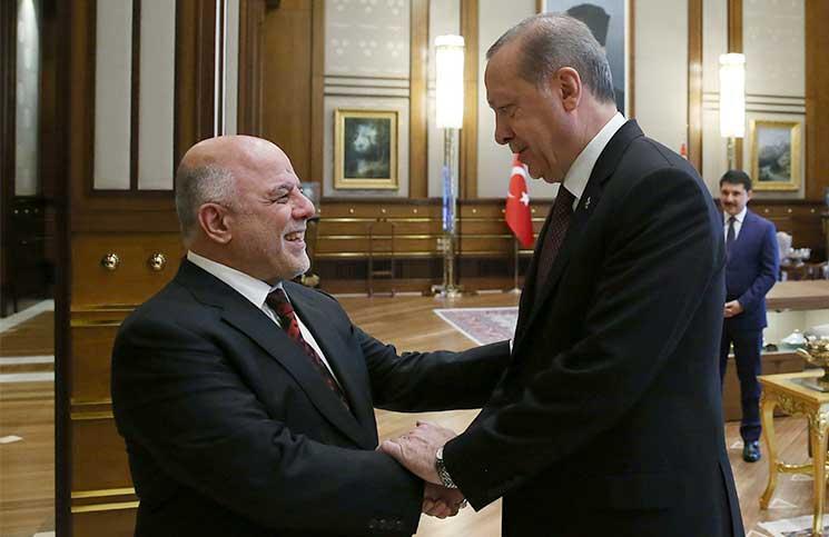 العبادي إلى تركيا لبحث عدة ملفات