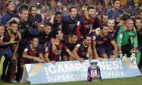 برشلونة يتوج بطلا لكأس السوبر الأسباني
