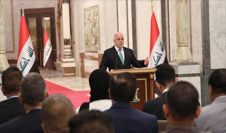 العبادي:من قال أن العراق سيلتزم بالعقوبات الأمريكية ضد الحبيبة إيران!!