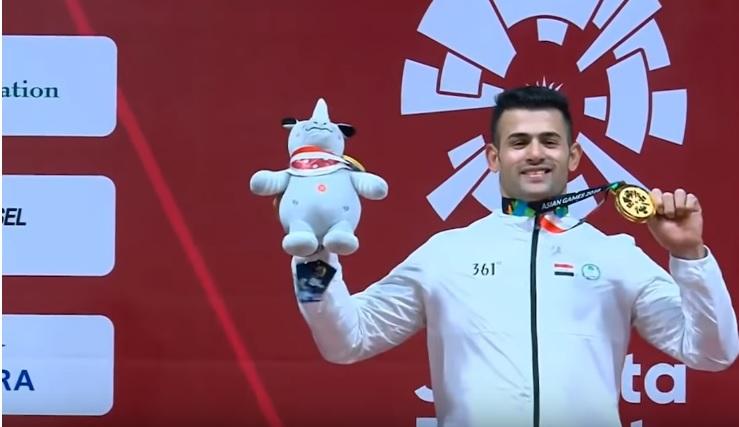 العراق يتوج بالميدالية الذهبية بدورة الألعاب الأسيوية