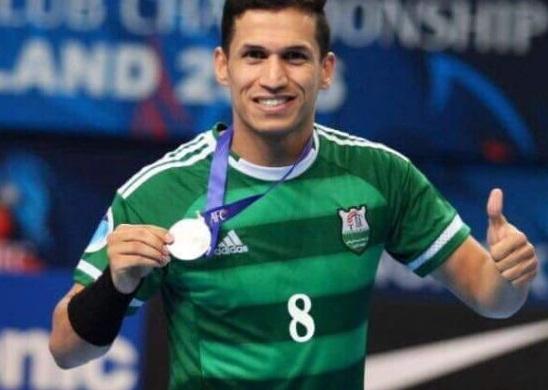 لاعب عراقي يحترف بالدوري الصيني لكرة الصالات