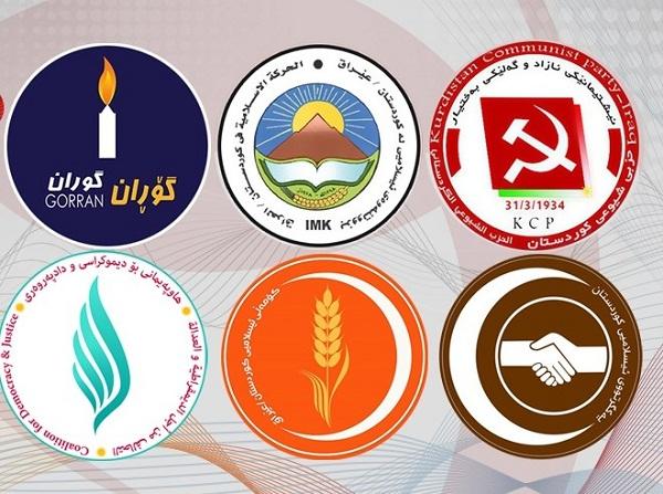 """مصدر :أحزاب المعارضة الكردية تعيش حالة """"تخبط"""""""