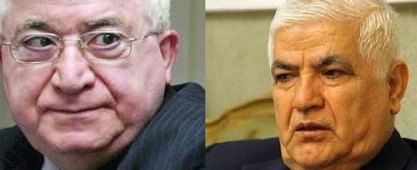 حزب طالباني:معصوم وصابر أبرز المرشحين لمنصب رئاسة الجمهورية