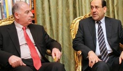 """النجيفي:مرشحنا للحكومة القادمة هو المالكي لأنه """"المدافع عن حقوق السنّة""""!!!"""