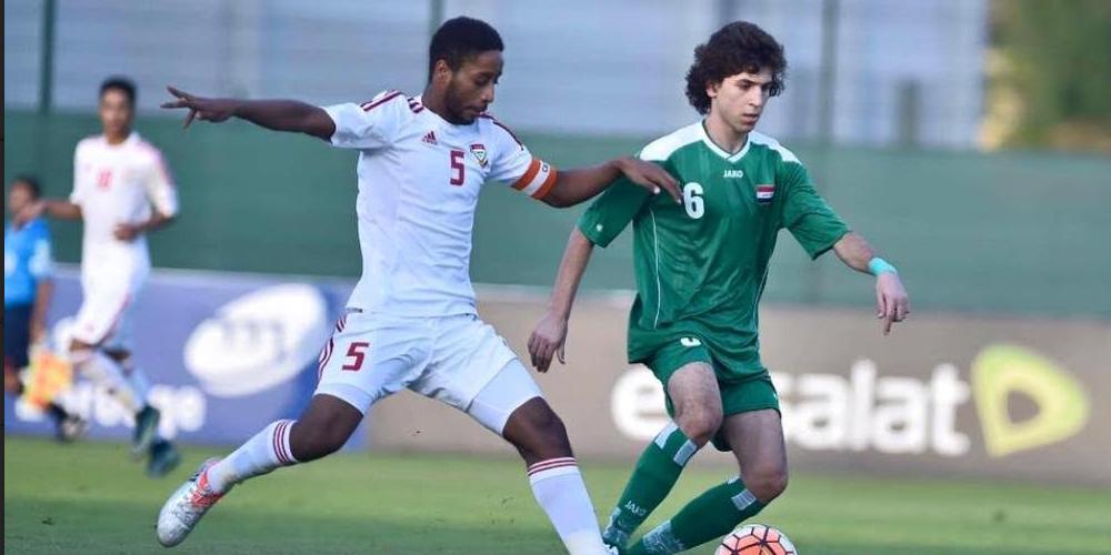 خسارة فريق ناشئة العراق أمام نظيره الأردني