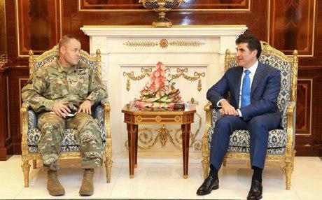 الجيش الأمريكي يدعو كردستان إلى التنسيق والتعاون مع الجيش العراقي