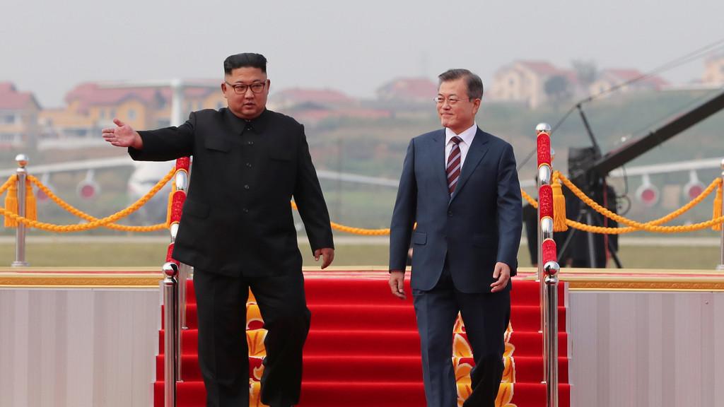 الرئيس الكوري الجنوبي يصل إلى بيونغ يانغ