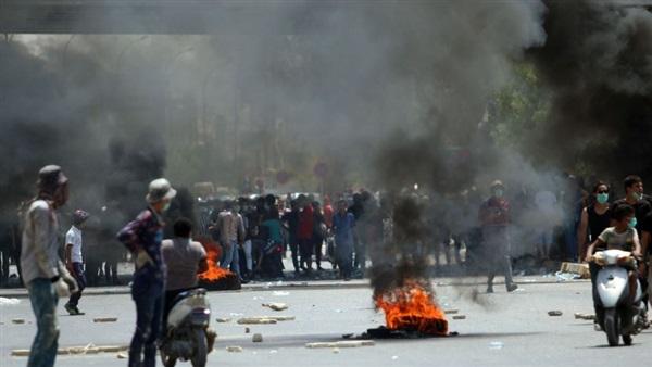 مصدر:متظاهروا البصرة يغلقون ميناء أم قصر