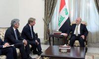 العبادي ووكيل وزير الطاقة الالماني يؤكدان على تعزيز التعاون بين البلدين