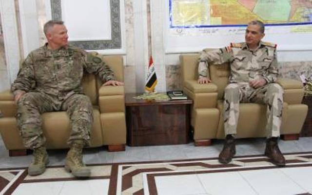 تعيين قائد جديد للتحالف الدولي في العراق وسوريا