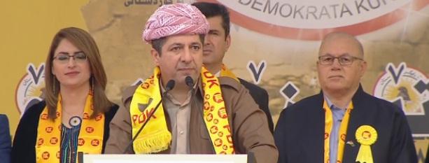 مسرور يدعو الأكراد إلى الالتفاف حول حزب أبيه
