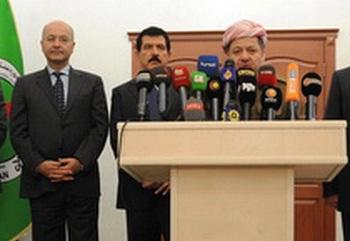 صحيفة:برهم صالح التقى البارزاني مرتين خارج وسائل الإعلام