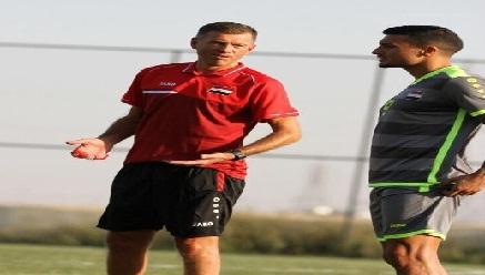 المنتخب العراقي يواصل تدريباته تحت اشراف المدرب كاتانيتش