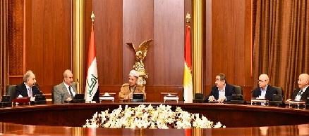 ائتلاف الوطنية:نتائج الاجتماع مع مسعود البارزاني كانت جيدة جداً