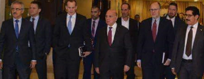 Kurdish delegation meets MacGork and Sulliman in Baghdad
