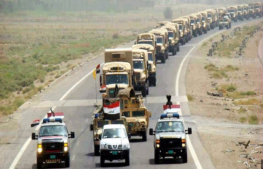 مصدر:قوات كبيرة من الجيش والحشد الشعبي دخلت مدينة البصرة
