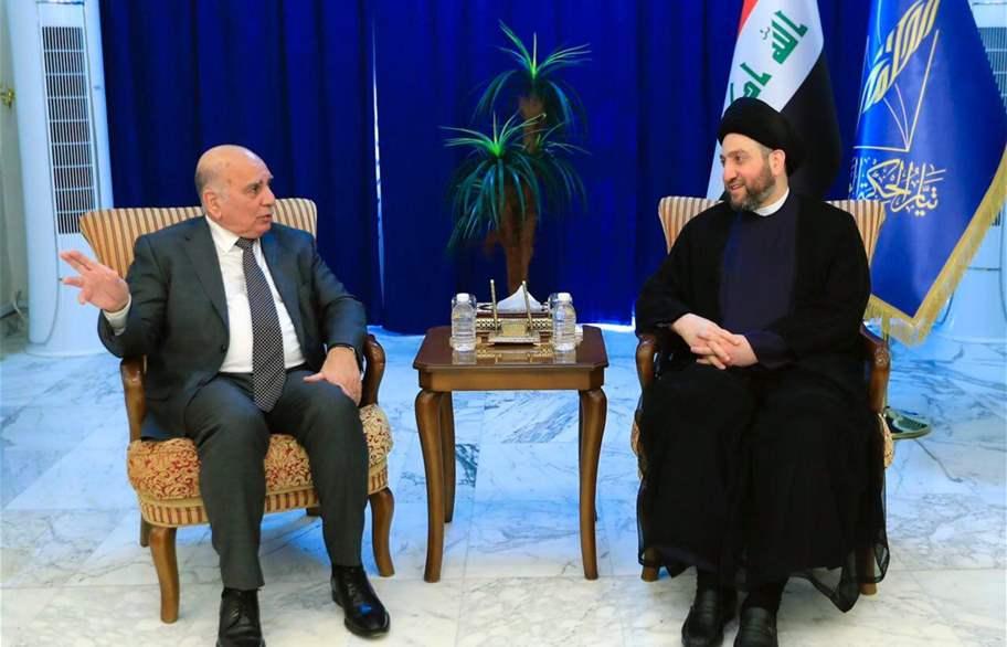 الحكيم وحسين يؤكدان على حسم موضوع رئاسة الجمهورية