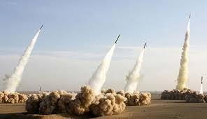الحرس الثوري الإيراني يعلن عن استهداف الأراضي العراقية بـ7 صواريخ أرض أرض