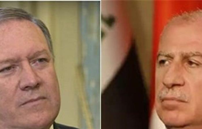 بومبيو والنجيفي يؤكدان هاتفيا على وحدة العراق واستقراره